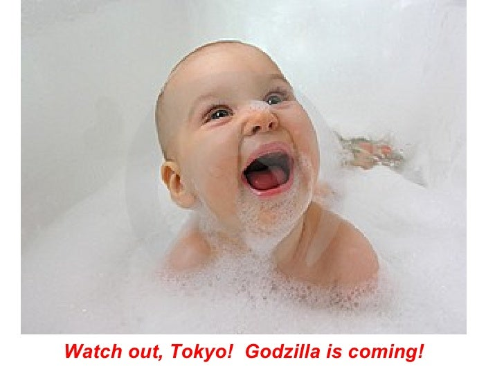 Watch out, Tokyo!  Godzilla is coming!