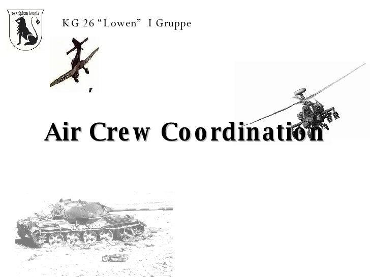"Air Crew Coordination KG 26 ""Lowen""  I Gruppe"