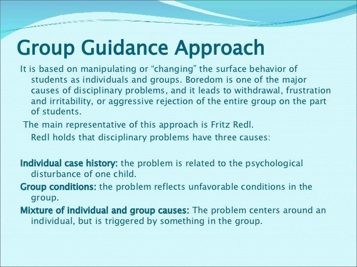 group discipline