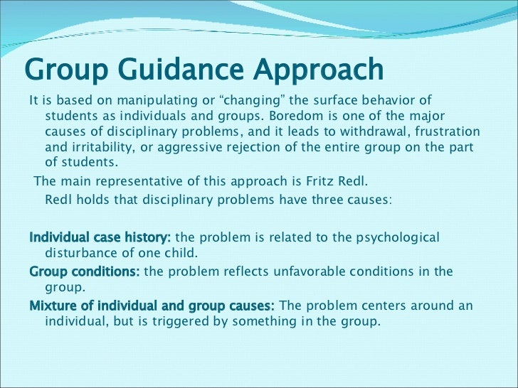 group guidance definition