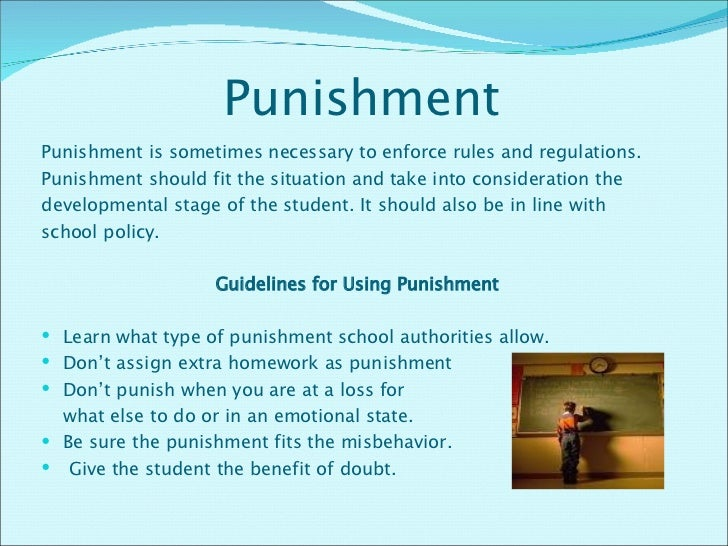 homework is a punishment that should be abandoned Subject: penalty for late homework i went to work without my security badge and i didn't get reprimanded or have to stay late after work as a punishment.