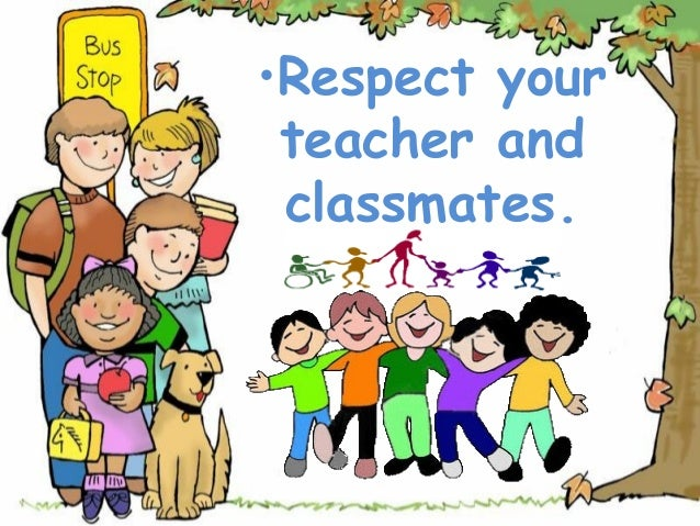 our respected teacher Why should all students respect the teachers teachers deserve respect as they are trying to pass why should we students give teachers our respect.