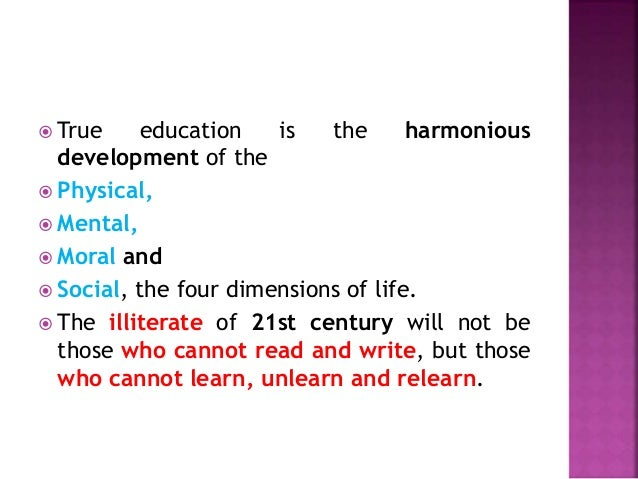 Education: Meaning , Definition, types of education and