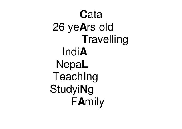 Cata 26 yeArs old Travelling IndiA NepaL TeachIng StudyiNg FAmily