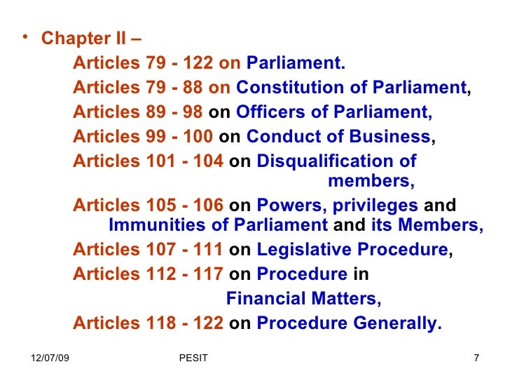 Class1 Preamble And List Of Articles