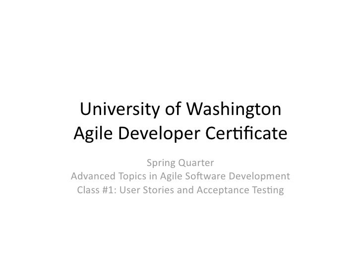 University
