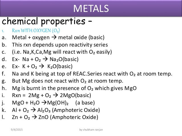 Physical And Chemical Properties Of Oxygen Pdf