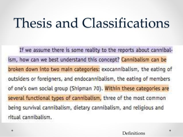 cannibalism essays Cannibalism this research paper cannibalism and other 63,000+ term papers, college essay examples and free essays are available now on reviewessayscom.