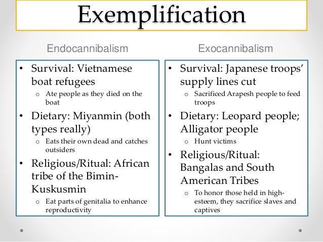 ngo cannibalism essay