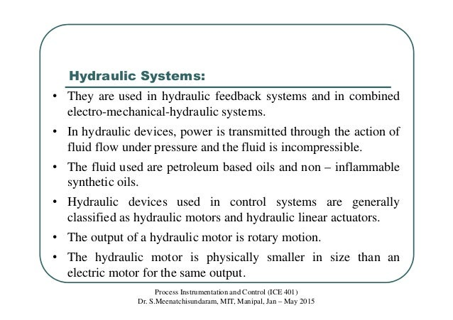 Class 11 Mathematical Modeling Of Pneumatic And Hydraulic