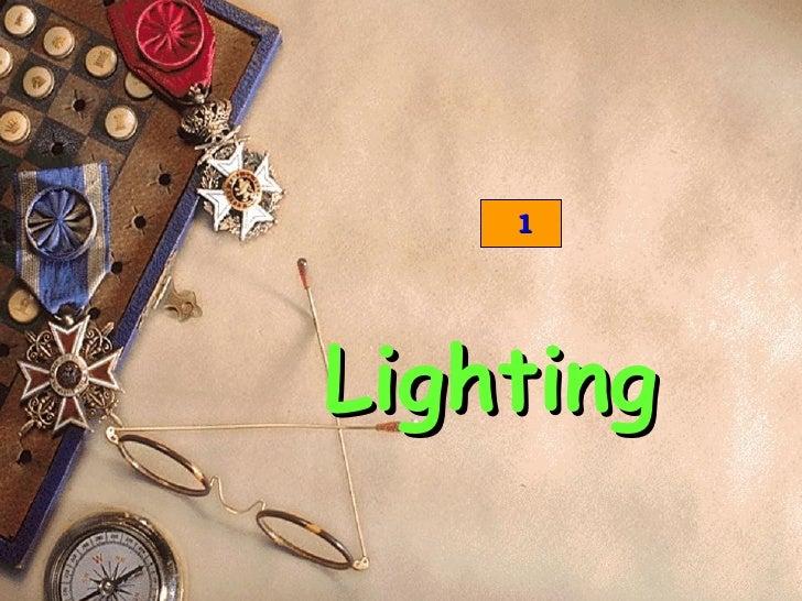 1Lighting