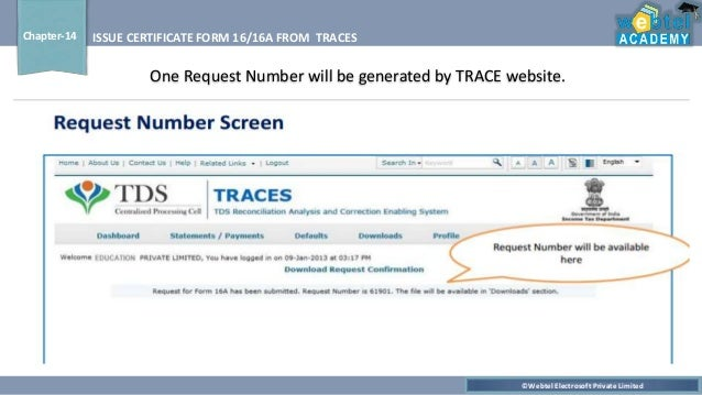 Form 16/16A from TRACESby Jyotikahemantkumar