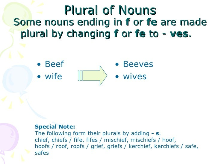 Class 1 Plural Of Nouns Iza May 16 2009