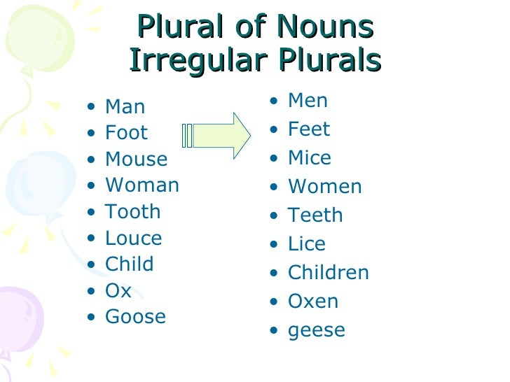 Class 1 Plural Of Nouns Iza May 16 2009