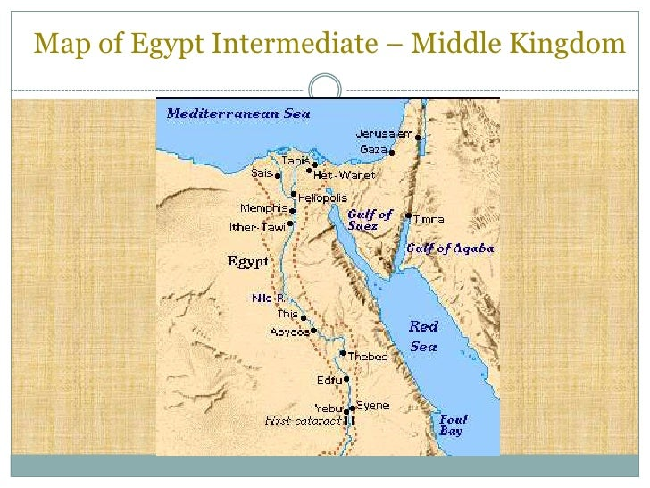 Class Fall Egypt The End Of The Old Kingdom - Map of egypt old kingdom