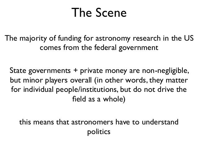 Astropolitics and your career Slide 2