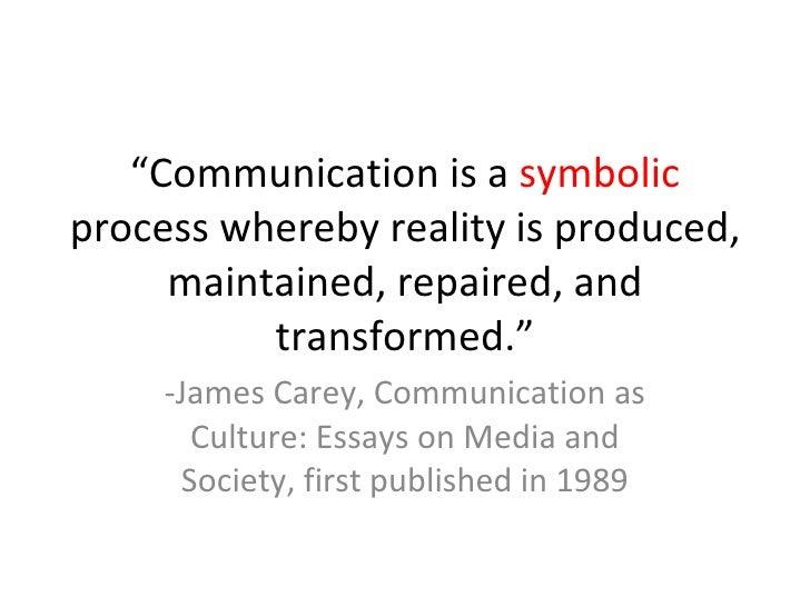 james carey communication as culture essays on media and society James carey communication as culture essays on media and society culture and essays society media carey communication on as james.