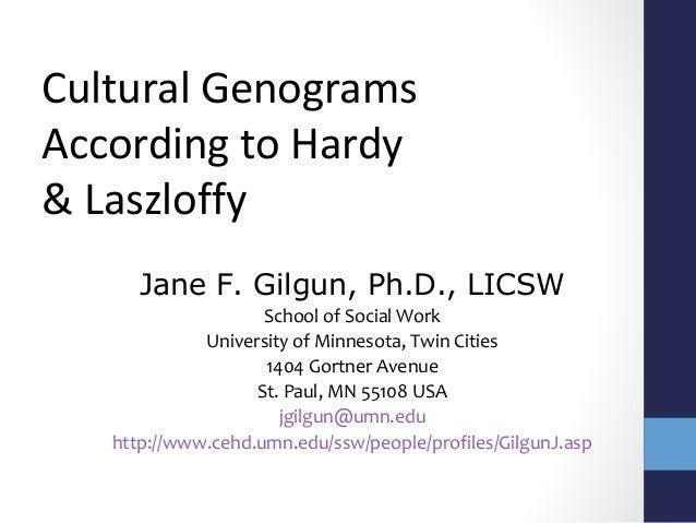 doing a cultural genogram  hardy  u0026 laszloffy