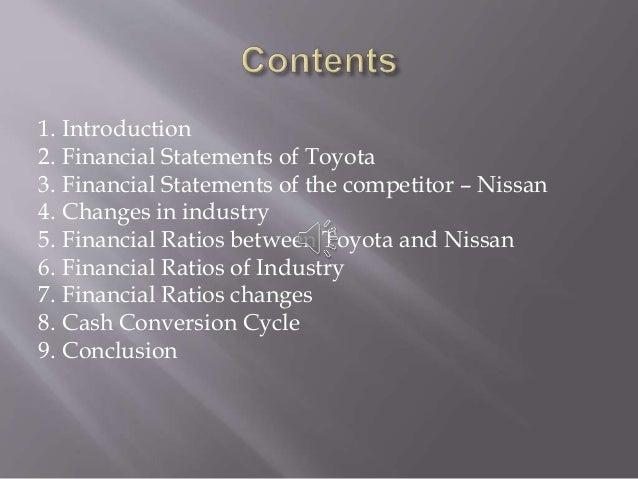 Class 2 Group 8 Toyota Company Financial Presentation Pp