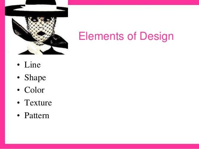 Three Elements Of Design : Fashion