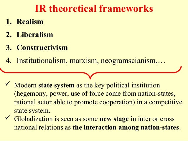 democratic realism In place of realism or liberal internationalism, the last four-and-a-half years   types, respectively, democratic globalism and democratic realism.