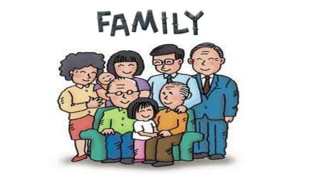 The Family:• Family is the basic social unit.Family represents people livingtogether by ties ofmarriage, blood oradaptatio...