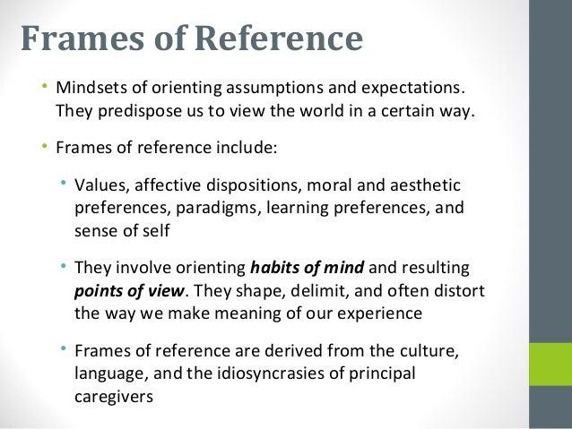 Class 4 mezirow\'s transformative learning theory