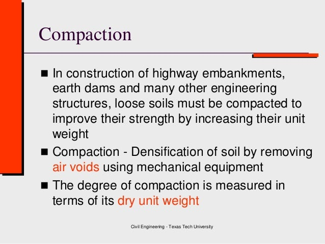 Class 4 Soil Compaction ( Geotechnical Engineering )