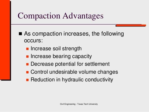 Class 4 soil compaction geotechnical engineering for 4 parts of soil