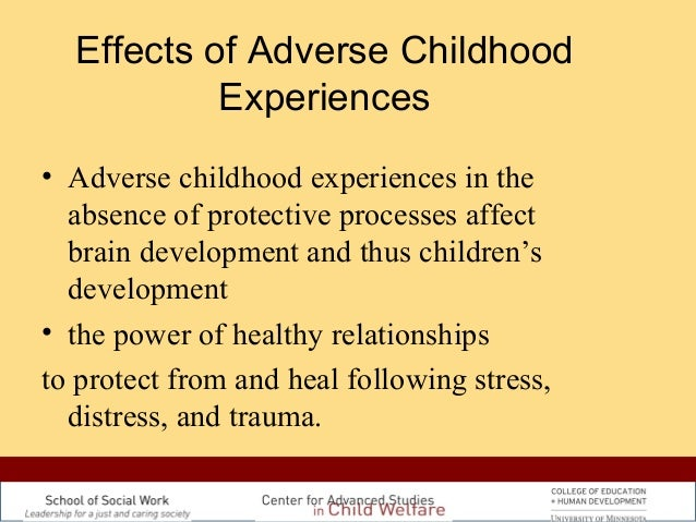 effects of traumatic experience on child behaviour Are important because children who have experienced trauma are often  when  considering that maladaptive behaviors resulting from trauma and  traumatic  stress is the physical, mental, or emotional impact of that event, which can.