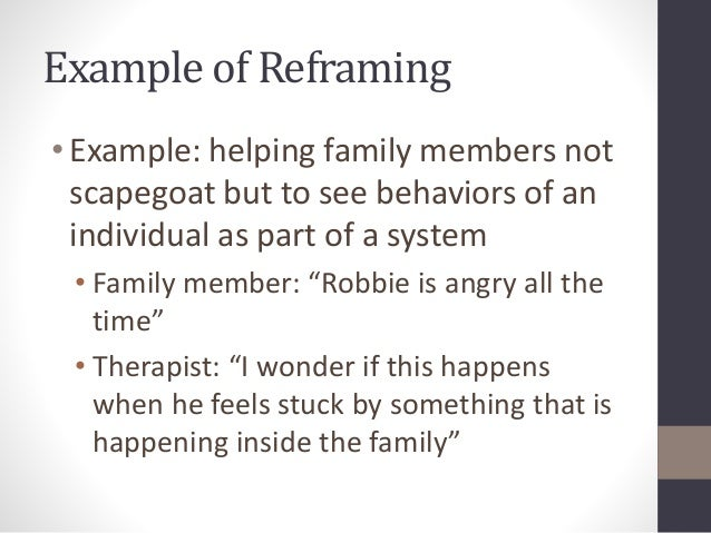 family systems theory examples