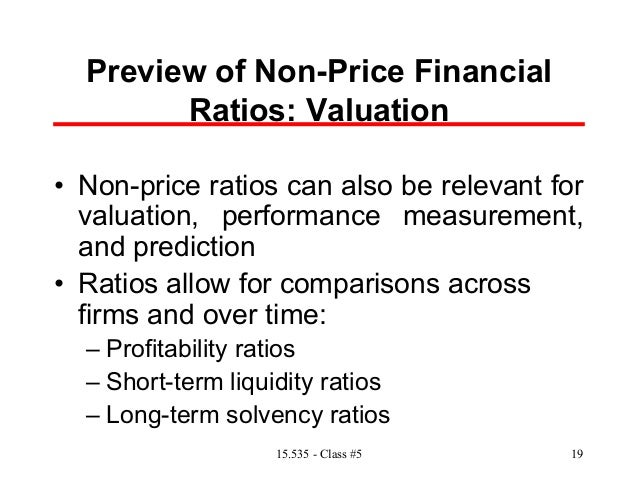 comparative and ratio analysis to measure profitability and liquidity A liquidity ratio is a ratio that shows the asset management ratios are a set of ratios that measure how comparative ratio analysis is when a firm.