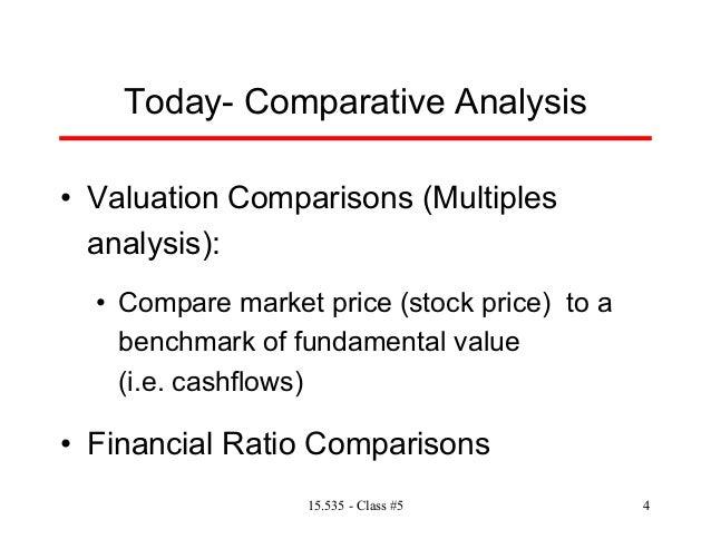 go compare analysis