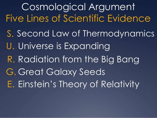 cosmological argument vs big bang theory The big bang theory supports the argument as it shows that the universe had a beginning start studying cosmological argument - strengths and weaknesses learn vocabulary, terms, and more with flashcards, games, and other study tools.