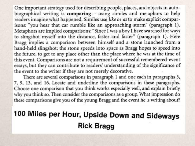 The Goal: Writing a Good Introduction The Strategy:  Choose a provocative or interesting quotation (four typed lines or m...