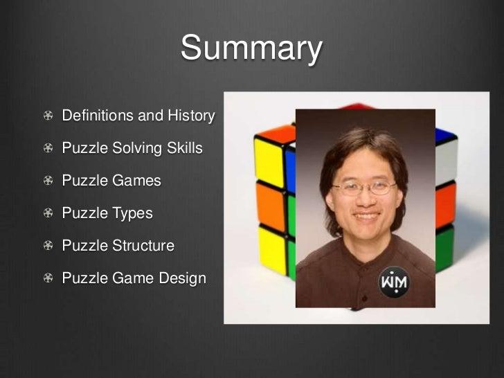 GAME 3400 Level Design - Puzzle Design Slide 2