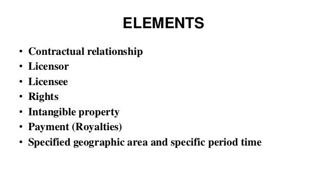 what are the elements of a contractual relationship