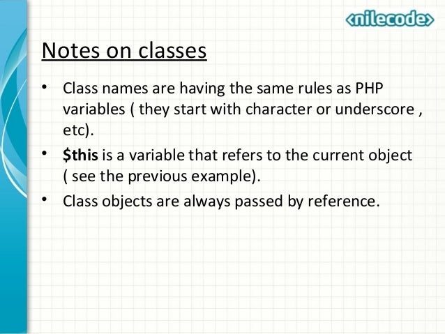 php get current class name