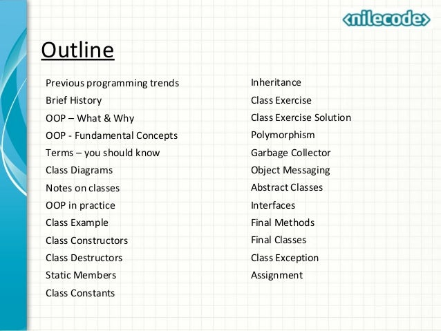PHP OOP Introduction - Tutorials Class