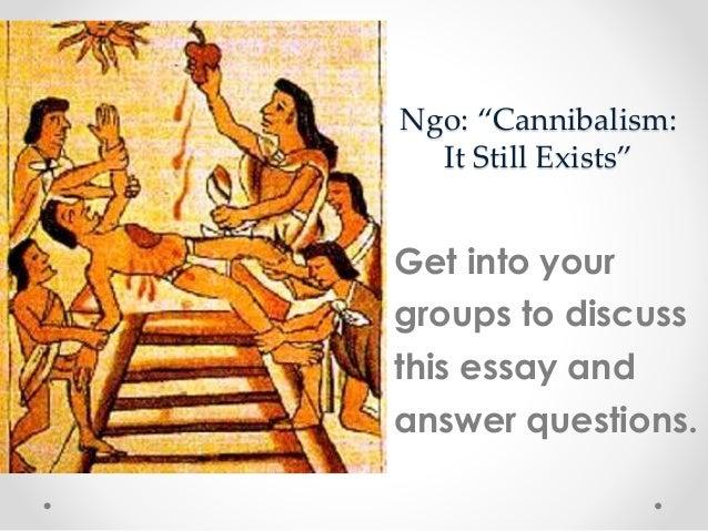 Essay of cannibals summary