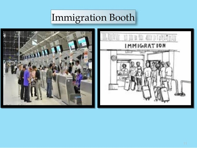 Immigration Booth 11