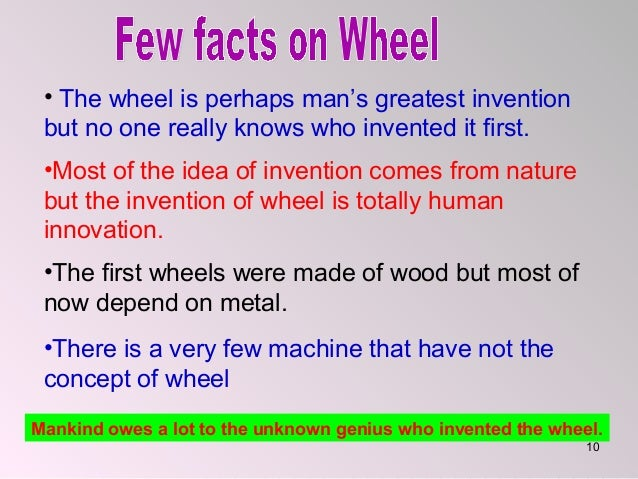 essay on invention