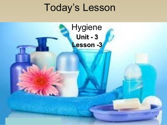 English In Italian: Class 8 English Lesson 3 Hygine