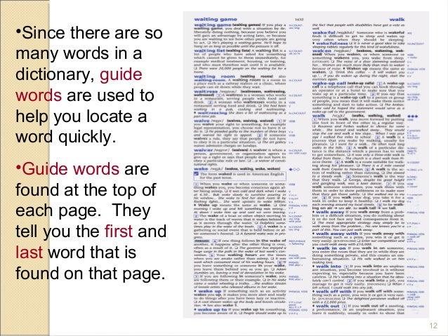 dictionary skills lessons tes teach rh tes com Dictionary Guide Words Worksheet Dictionary Guide Words Lesson
