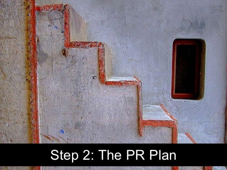 Step 2: The PR Plan