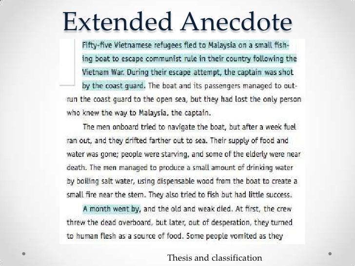 Anecdote Examples In Essay Hepatitze