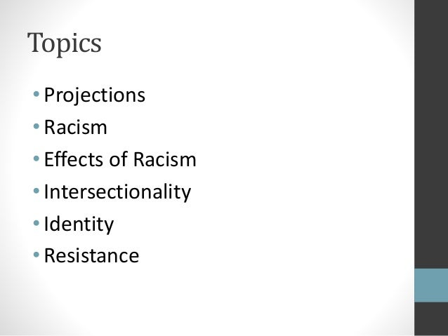 effects of racism on people