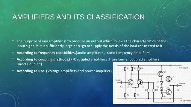 Class AB amplifiers