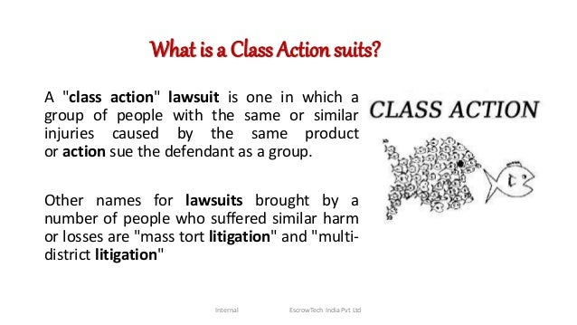 What Is A Class Action Lawsuit >> Class Action Suits