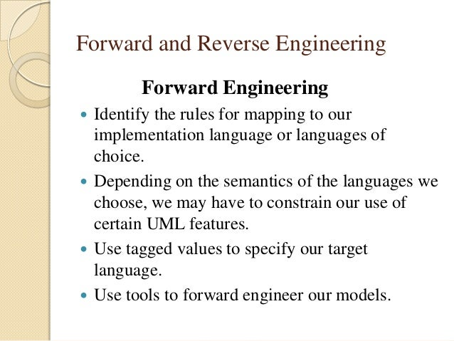 reverse engineering - Uml Reverse Engineering